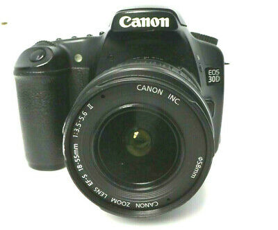 Canon EOS 30D 8.2MP Digital SLR Camera Kit with EF-S 18-55mm f/3.5-5.6 Lens