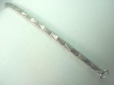Mira-Flex Vintage Hook End Ladies Watch Band Stainless Steel 100% Expansion NOS