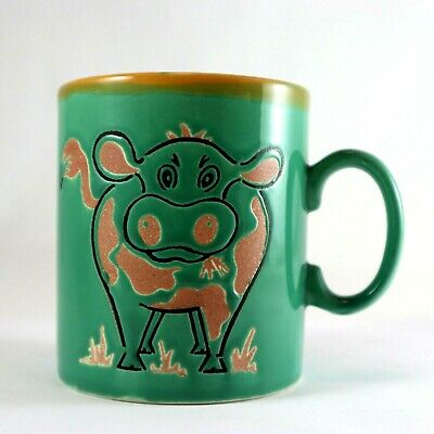 JUST MUGS Cow Made in England Ceramic Collectable Vintage Cute Coffee Cup