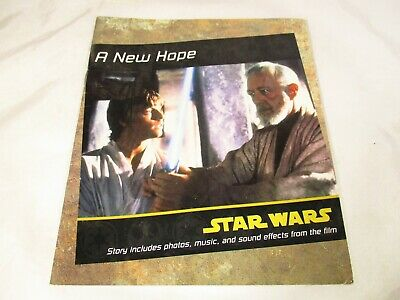 Star Wars A New Hope Booklet 24 pages 1997 Lucasfilm Limited Reed For Kids Aust.