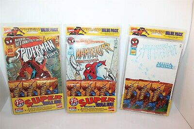 Spider-Man Marvel Comics Value Pack 3 Comics 3 Trading Cards 3 Protector Sleeves