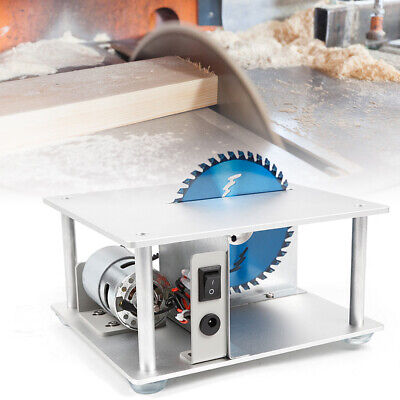 Mini DIY Table Saw Table Woodworking Cutting Machine Bench Saw Cutter 5000 RPM