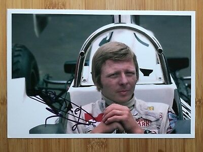 Signed Formula One Photograph Of Gijs van Lennep