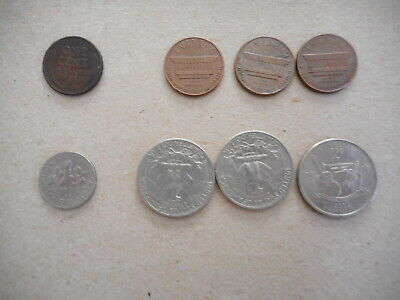 Bulk Lot of United States of America Coins - total of 8 coins