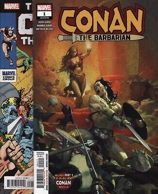 CONAN THE BARBARIAN #1,2,3,4,5,6/TRUE BELIEVERS Marvel Comics LIFE AND DEATH OF