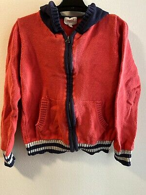 Seed Zip Up Jumper Size 4-5