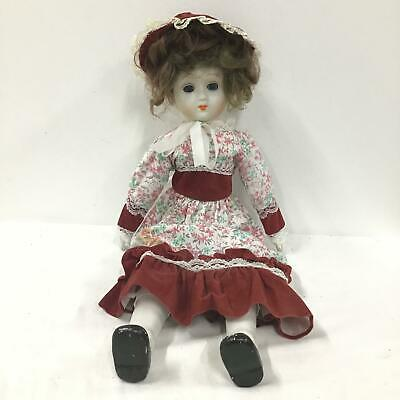 China Doll With Cloth Body In Western Dress #458
