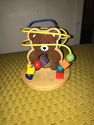 wooden toy baby