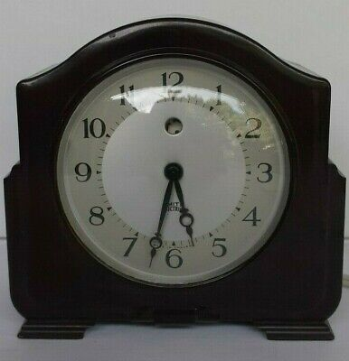 Vintage Smith Electric Clock 200/230V Made In England