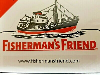 Fisherman's Friend Original Menthol And Eucalyptus Flavour Lozenges - 10 Packets