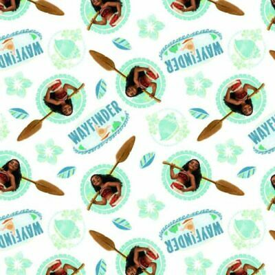 Disney Pixar Moana Wayfinder  - 100% cotton fabric