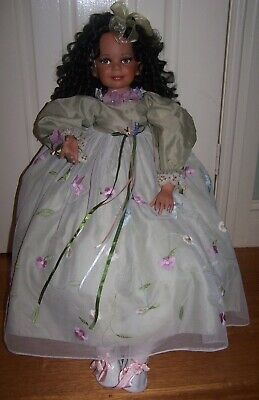 """African-American Donna Rubert Doll - Huge 33"""" Doll"""