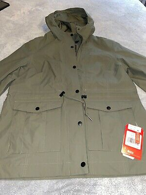 The North Face Women's Zoomie Green Size Large L Hooded Drawstring BNWT