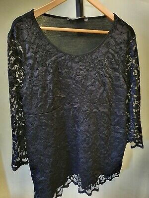 Blooming marvellous maternity top size 18 Lace effect