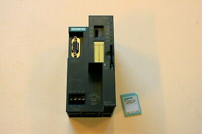 Siemens Simatic DP, IM151-7 F-CPU for ET200S, with 2MB Memory card