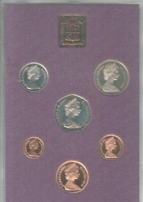 40th Birthday Gift - Coinage of Great Britain & Northern Ireland 1980 proof set.