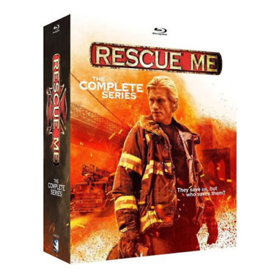 Rescue Me: The Complete Series (Blu-ray Disc, 2018) 16-Disc Set