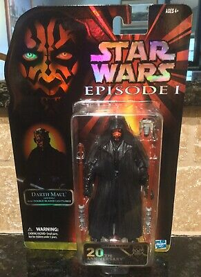 "2019 Star Wars Black Series 6"" 20th Anniversary Episode I - Darth Maul (DAMAGED)"