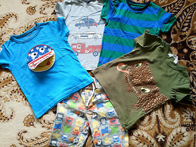 boy NEXT Marks and Spencer summer bundle for 2-3-4 years
