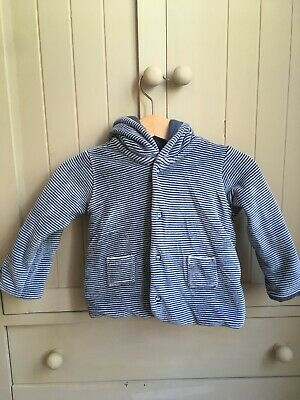 Marks And Spencer M&S Baby Boys Striped Jacket 3-6 Months