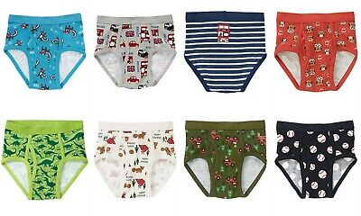 NWT Gymboree Boys Briefs Seven Pack Underwear Size 2T 3T  4 5-6  7-8 10-12