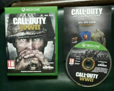 Call of Duty: WWII (WW2) for Microsoft Xbox One - VGC