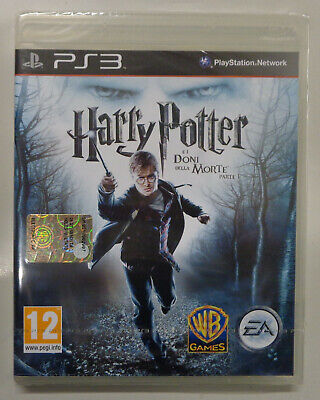 Console Playstation 3 PS3 PAL IT Nuovo Harry Potter e i Doni della Morte Parte 1