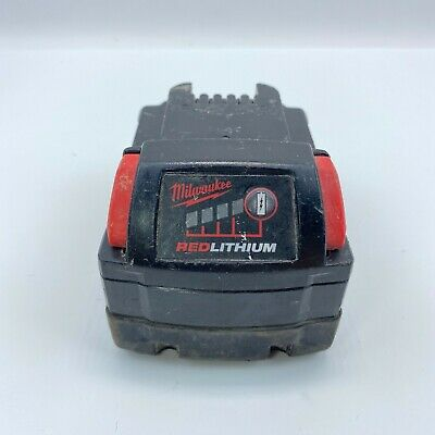 Genuine Milwaukee 48-11-1840 M18 18 v Red Lithium Ion XC Battery 4.0 Ah