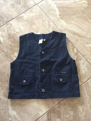 Boys Mini Options Vest Size 4