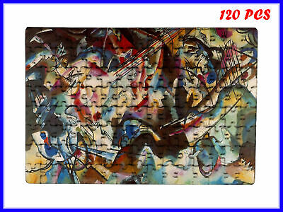 Wassily Kandinsky - Composition VI Art - 120 Piece Jigsaw Puzzle