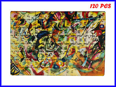 Wassily Kandinsky - Composition VII Art - 120 Piece Jigsaw Puzzle