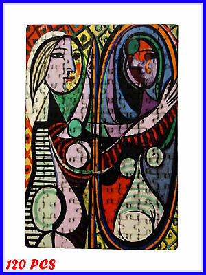 Pablo Picasso - Girl before a Mirror Art - 120 Piece Jigsaw Puzzle