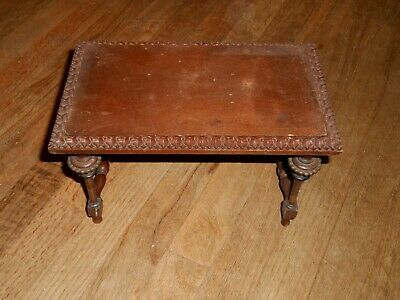 Antique Salesman. Sample Furniture Table D.W. WOODRUFF & CO AS/IS