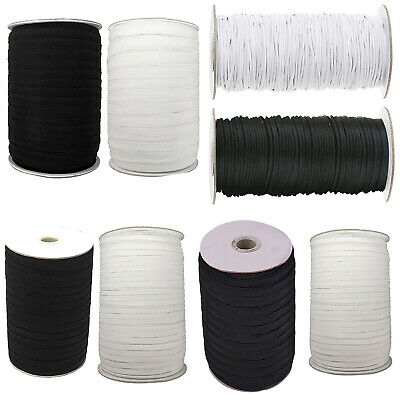 3M Great Quality White Extra Thick 3MM Round Corded Elastic 3 METRE LONG