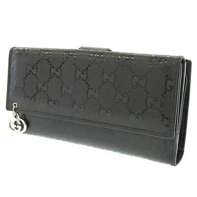 GUCCI 212407 GG implementation canvas Double Sided purse