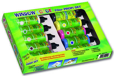 Funny Color Window-Color-ANTIK 10-er Profi-Set 14030425
