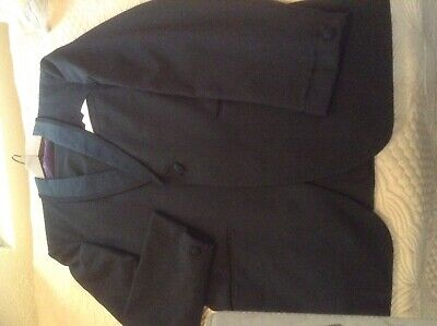 Mans black dinner suit