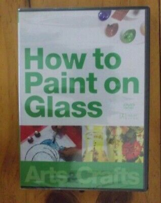 New DVD How to Paint on Glass