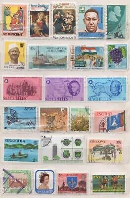 British Commonwealth / Empire stamps x 100+ , Mint and Fine Used, ( see photos )