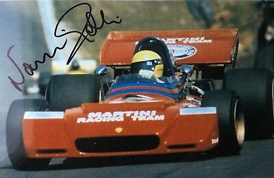Signed Formula One Photograph Of Nani Gali