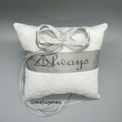 Harry Potter Always wedding ring cushion/pillow. after all this time