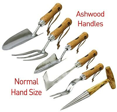 Stainless Steel Hand Garden Tools Potting and Cultivating 6 Varities