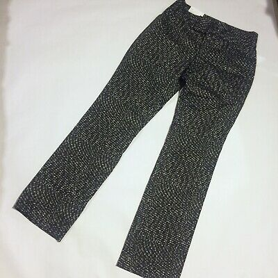 NWT CALVIN KLEIN black and white abstract pants Woman's Size 6