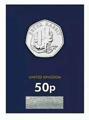 2020 Peter Rabbit Fifty Pence 50p Coin Brilliant Uncirculated BUNC BU UK