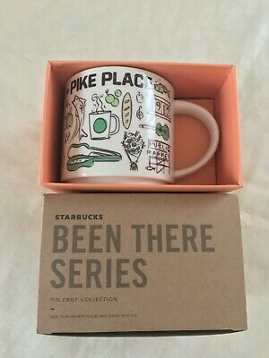 First Starbucks Pike Place Market Been There Series Mug Pin Drop Collection YAH