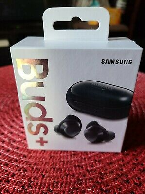 Samsung Galaxy Buds+ Plus Wireless Earbuds Black 2020 model.New and Unopened!