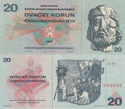 Czechoslovakia 20 Korun Banknote (What you see is what you get)