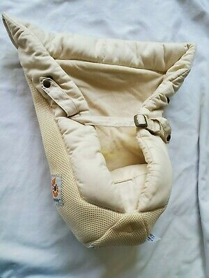 Ergobaby Easy Snug Infant Cool Air Mesh Insert Natural