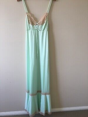 Mint green Vintage Slip 8-10