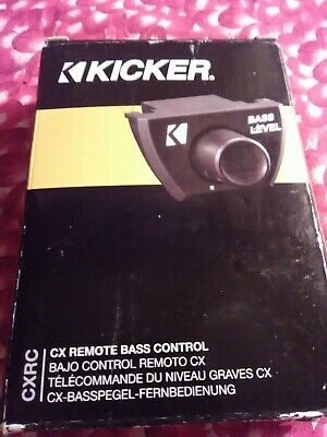 KICKER 46CXARC CAR AUDIO REMOTE BASS CONTROL GAIN FOR//CX DX PX AMPLIFIERS CXARC